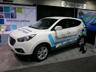 Hyundai Tucson Fuel Cell Vehicle - California Clean Vehicle Rebate Project
