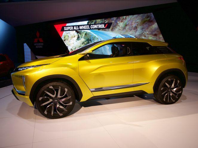 Mitsubishi eX Concept EV