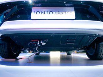 Hyundai Ioniq EV rear comparison