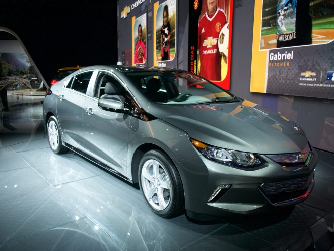 Chevy Volt Plug-in Hybrid