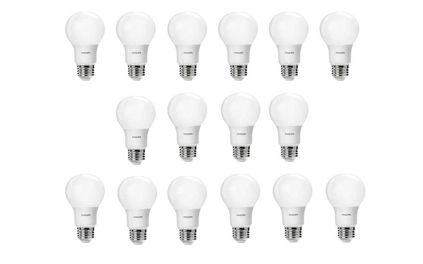 green deals  16-pack philips 60w daylight a19 led light bulbs  25 prime shipped  more