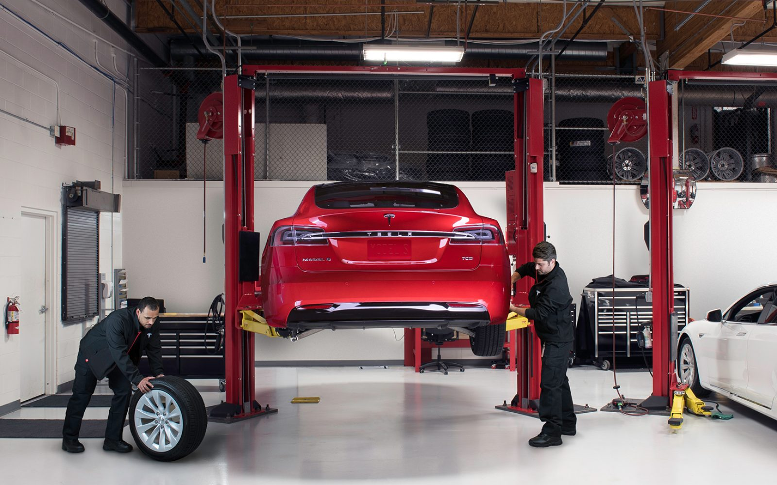 Tesla is working on opening up its service tools and helping
