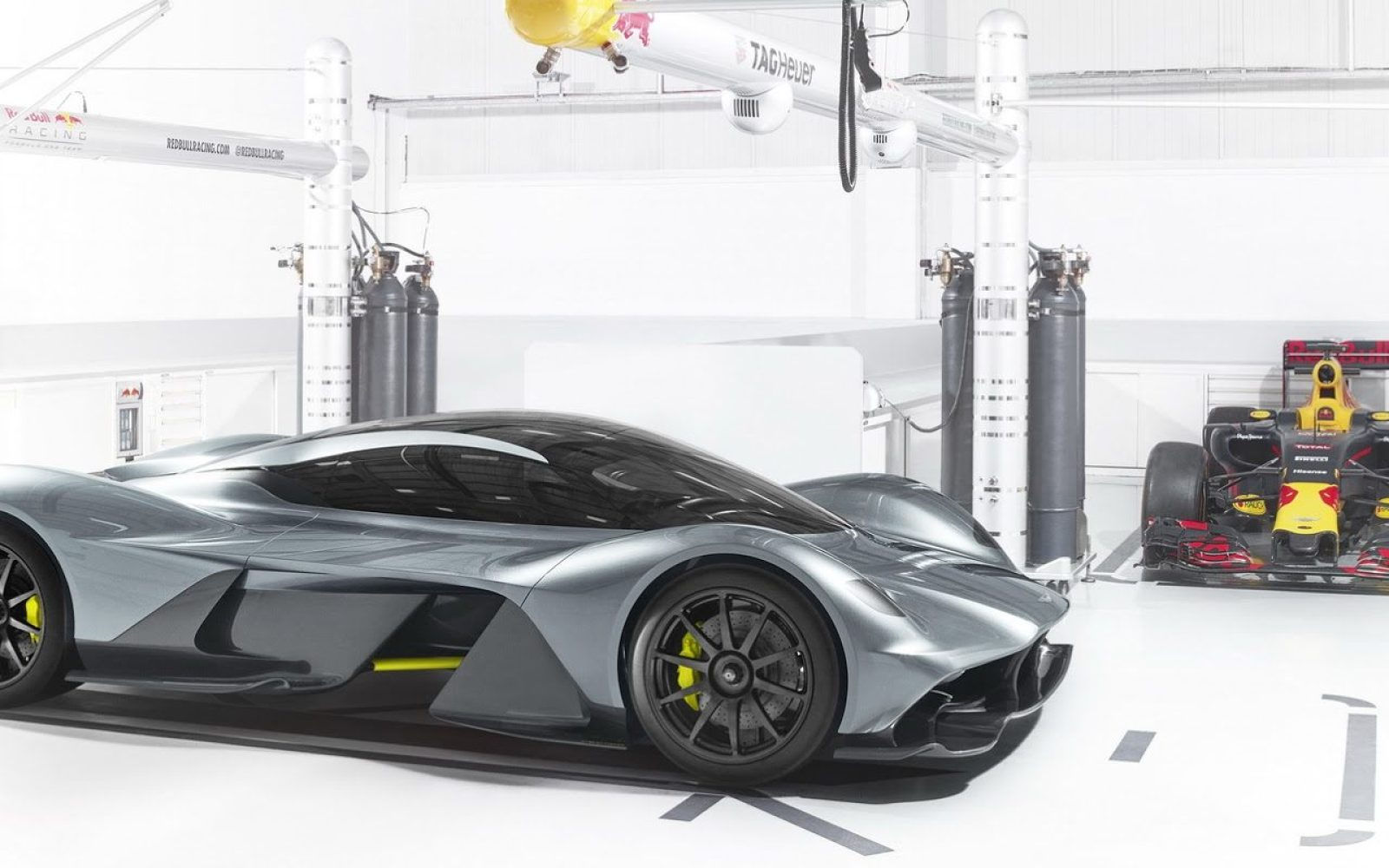 Aston Martin's upcoming new hypercar will have a battery pack supplied by Rimac