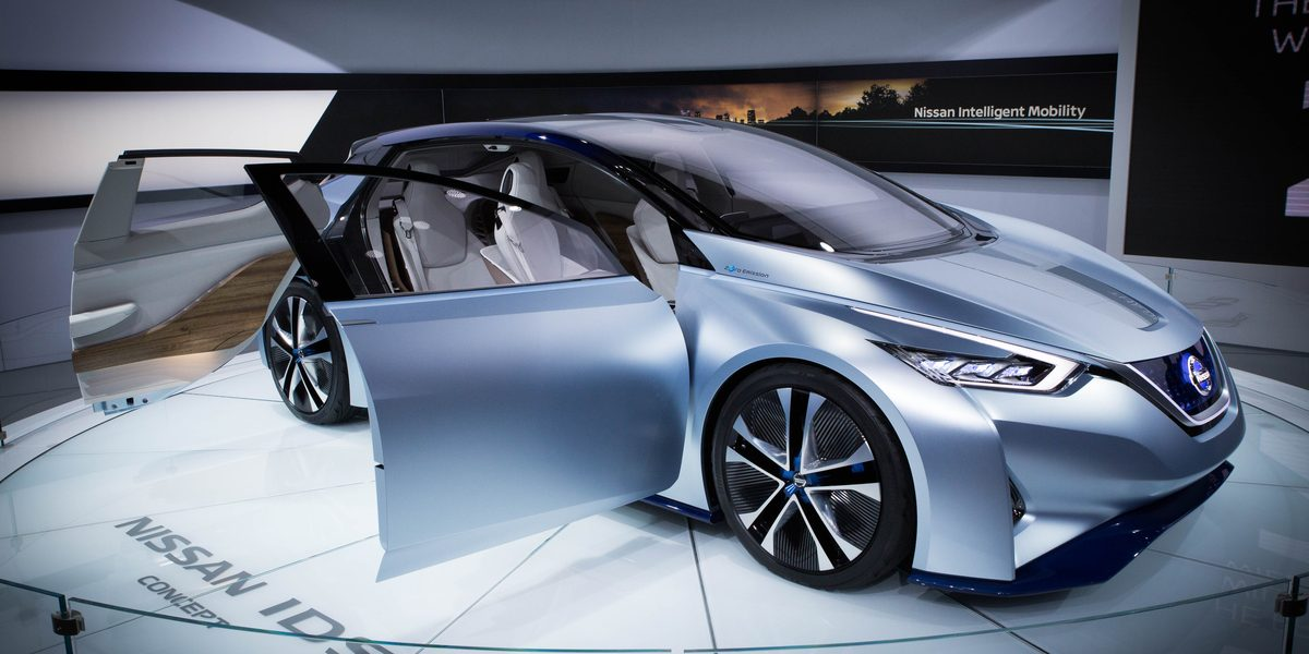 DETROIT (Jan 12, 2016) U2013 The Nissan IDS Concept, Nissanu0027s Vision Of The  Future Of Autonomous Driving And Zero Emission EVs, Made Its First U.S.  Appearance ...