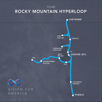 hyperloop US route 2