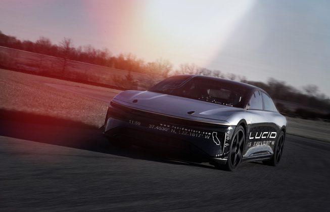 Lucid Air Alpha Speed Car 07