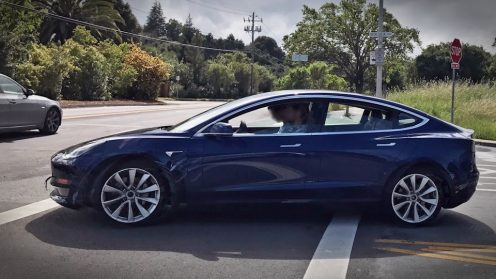 Model 3 blue rc 3