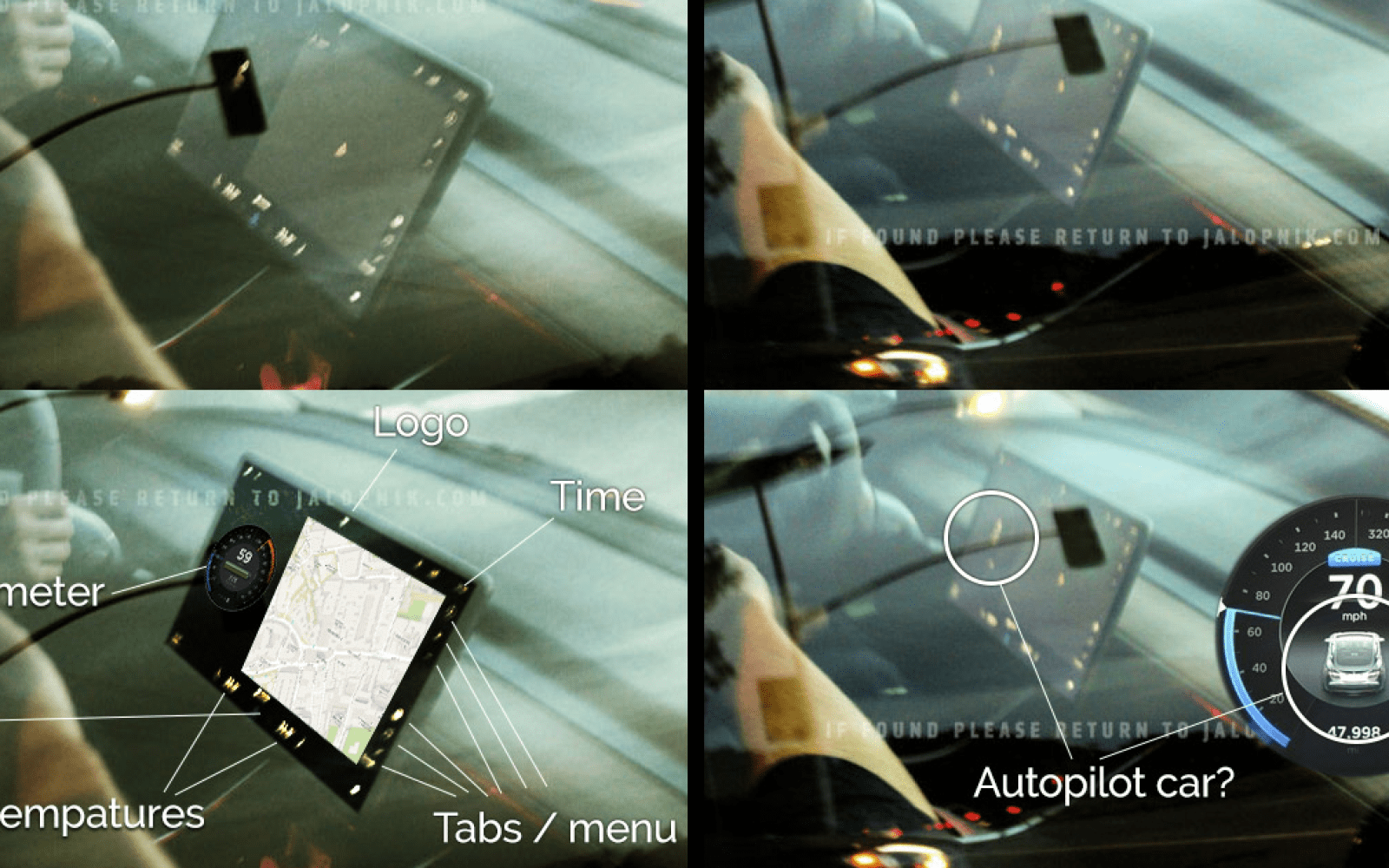 Tesla Model 3: decoding the release candidate's user interface on center screen