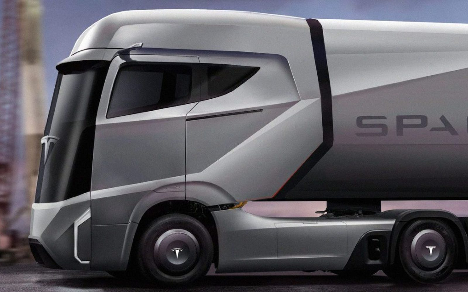 Tesla Semi All Electric Truck To Be Unveiled In September