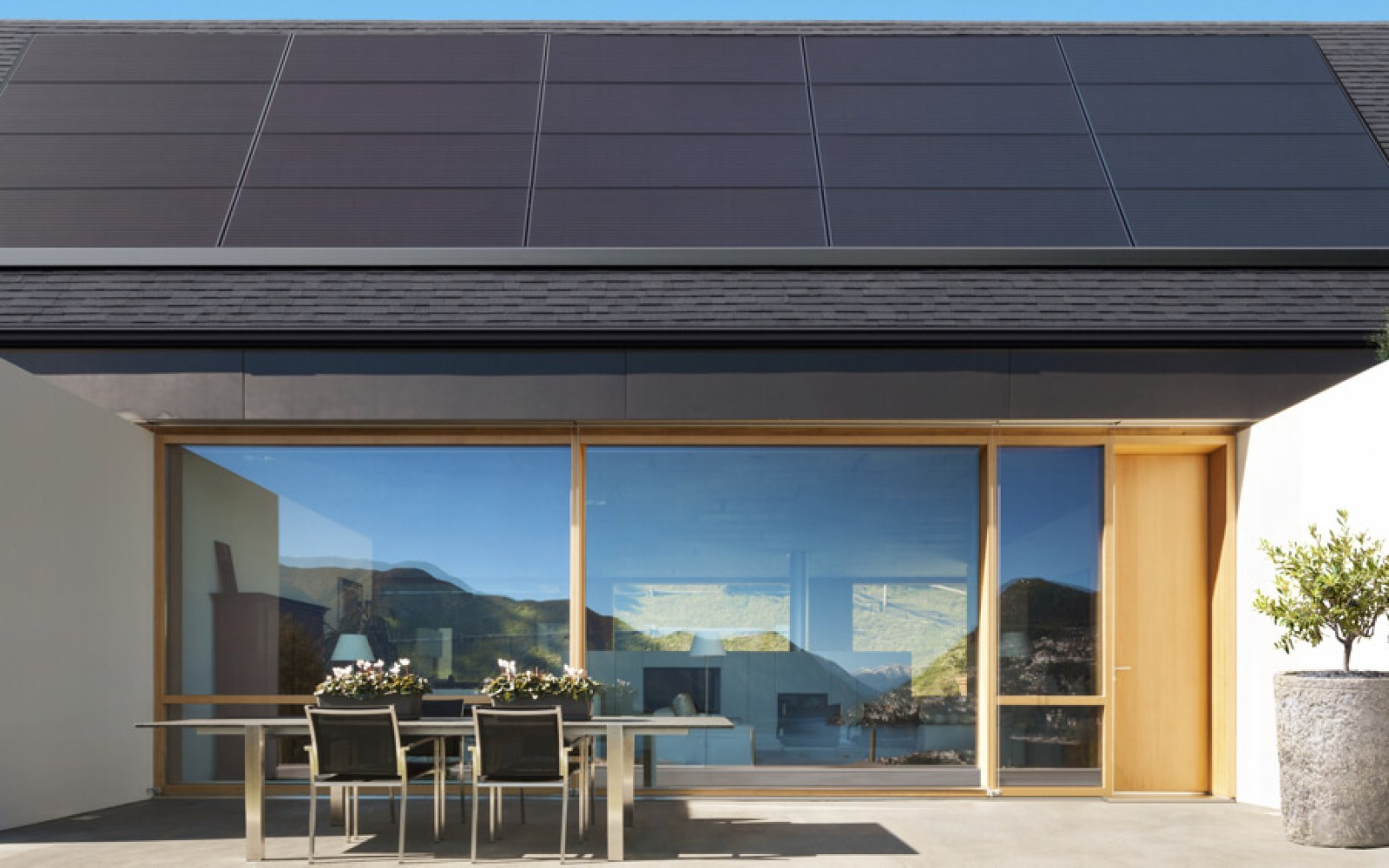 Tesla unveils its new 'sleek and low-profile' exclusive solar panel made by Panasonic