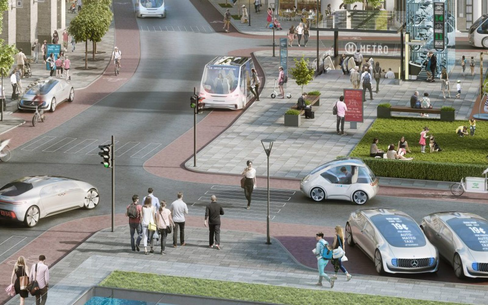 Daimler and Bosch join forces to build level 4 and 5 autonomous driving systems