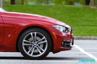 190 front BMW 330e Hybrid 3 series sports sedan review