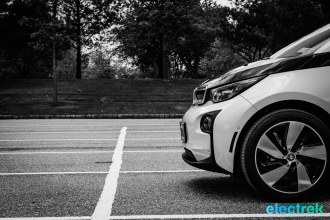 BMW i3 Electric Vehicle Urban Car Green Electrek-108