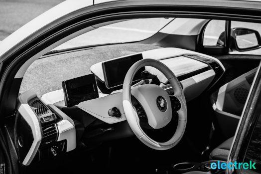 BMW i3 Electric Vehicle Urban Car Green Electrek-113