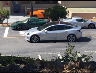 Model 3 silver RC