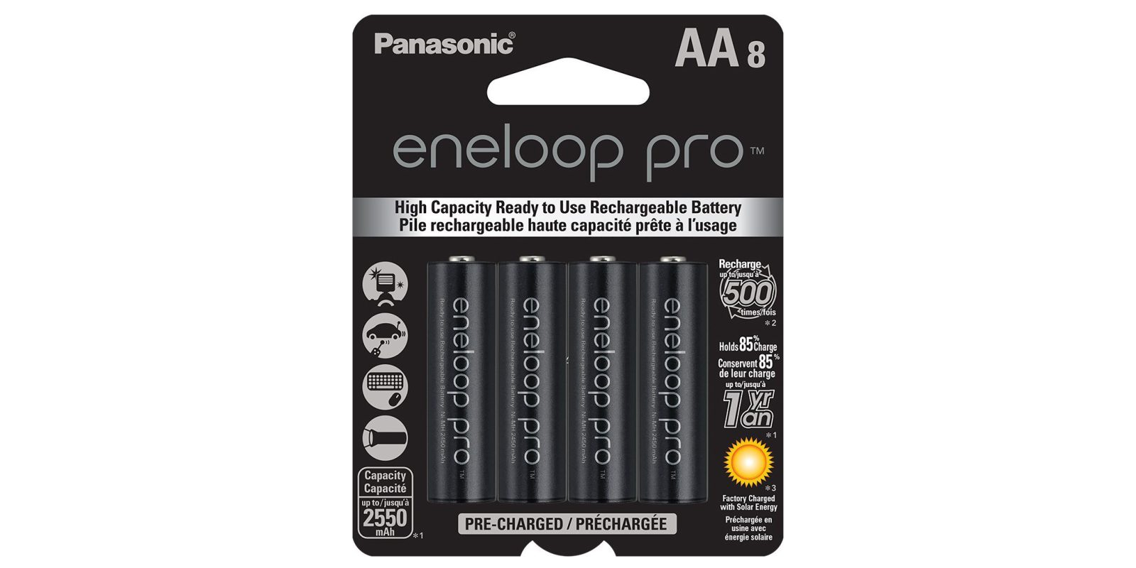Green Deals Panasonic Eneloop Pro AA Rechargeable Batteries 21