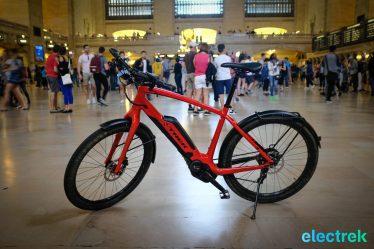 Grand Central Station Trek Super Commuter 8 Electric bike bicycle Electrek-125