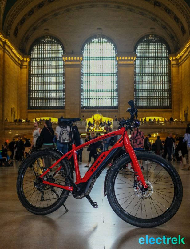 Grand Central Station Trek Super Commuter 8 Electric bike bicycle Electrek-128