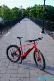 Trek Super Commuter 8 Electric bike bicycle Electrek Old Croton Aquaduct Trail Ossining NY-101