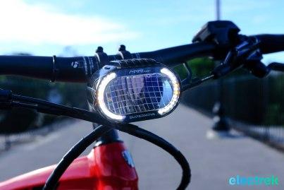 Trek Super Commuter 8 Electric bike bicycle Electrek SuperNove LED Light-102