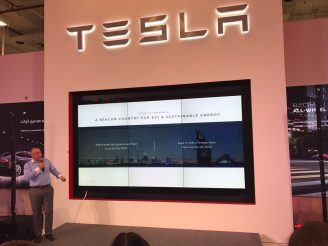 Tesla dubai launch 3