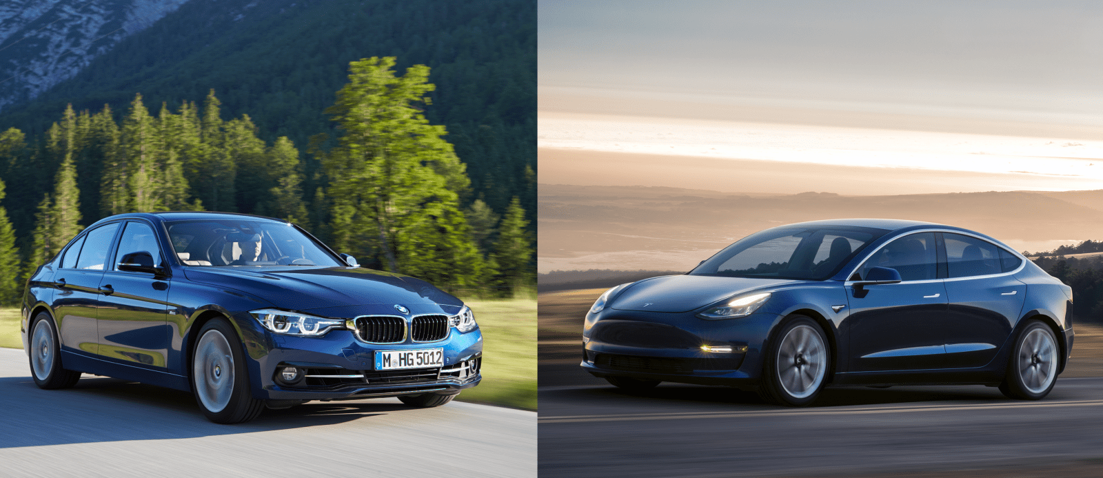 Tesla Model 3 vs BMW 3 Series: how pricing and options compare