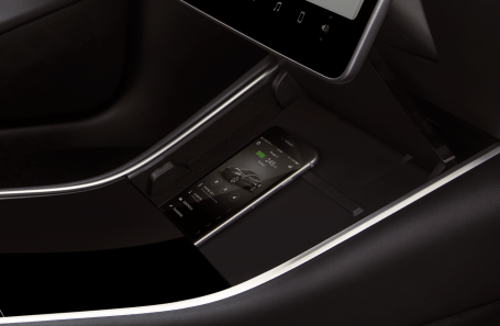 Model 3 - Interior Keycard and Phone Dock