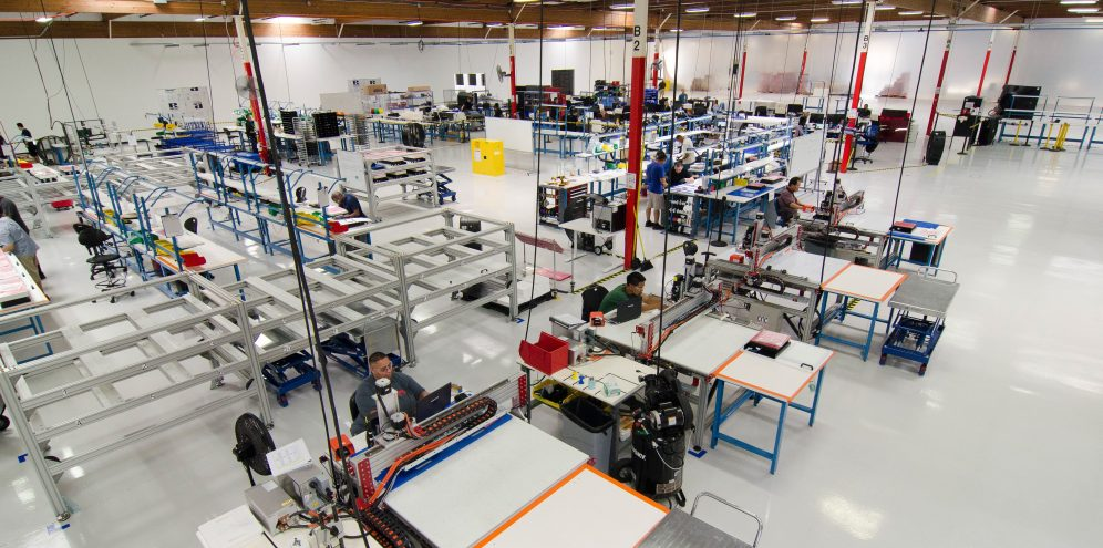 Romeo Power pilot production line in operation