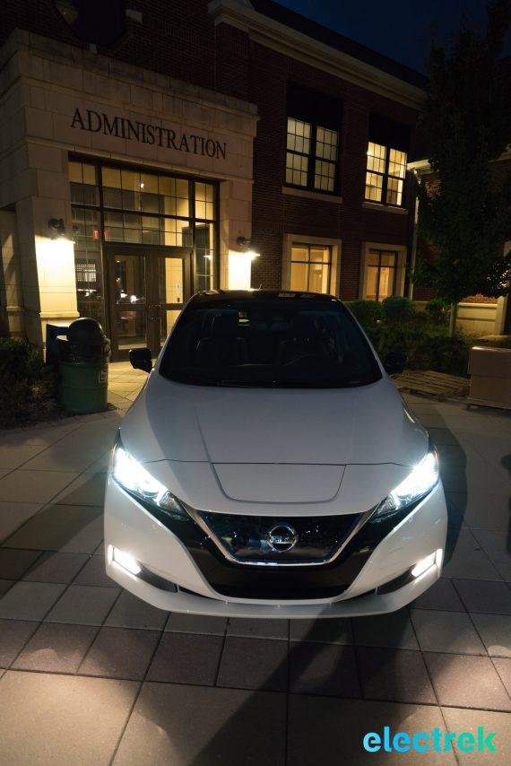 114 dark night front New Nissan Leaf 2018 National Drive Electric Week Bridgewater NJ-70
