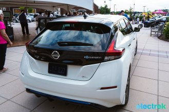 40 New Nissan Leaf 2018 rear lights trunk design National Drive Electric Week Bridgewater NJ-5