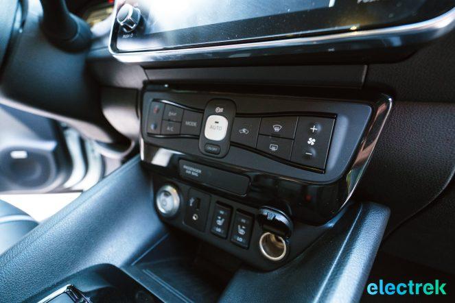 65 New Nissan Leaf colsone dashboard heated seats interior design 2018 National Drive Electric Week Bridgewater NJ-18