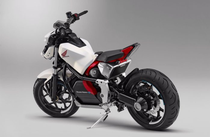 Honda introduces Riding Assist-e self-balancing electric motorcycle 3