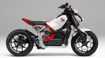 Honda introduces Riding Assist-e self-balancing electric motorcycle 6