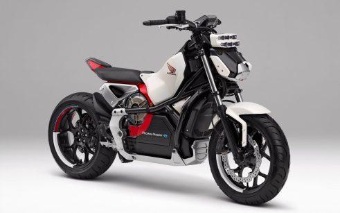 Honda introduces Riding Assist-e self-balancing electric motorcycle