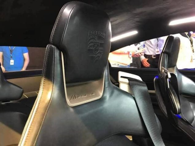 Porsche Mission E 1