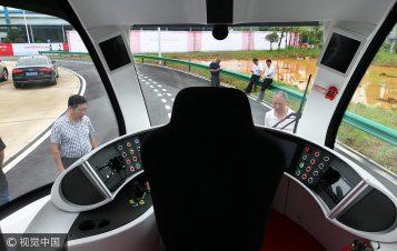 china trackless train 3