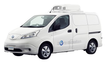 Nissan e-NV200 Fridge Concept - Photo-source