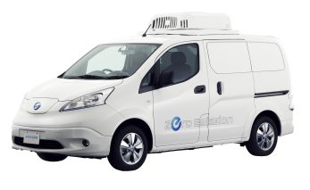 Nissan e-NV200 Fridge Concept - Photo-source