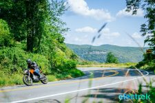 Earlier this summer I had the opportunity to test a 2015 Zero DS Motorcycle for a few days and I had a blast! If you are used to riding traditional motorcycles than, yes, you will miss the exhaust note, the vibrations and shifting gears. With the Zero, you get none of that but strangely enough, that doesn't detract from the riding experience. Actually, the fact that it is a near silent bike may add to the experience. I took the Zero DS to Bear Mountain area in New York and had a great time.