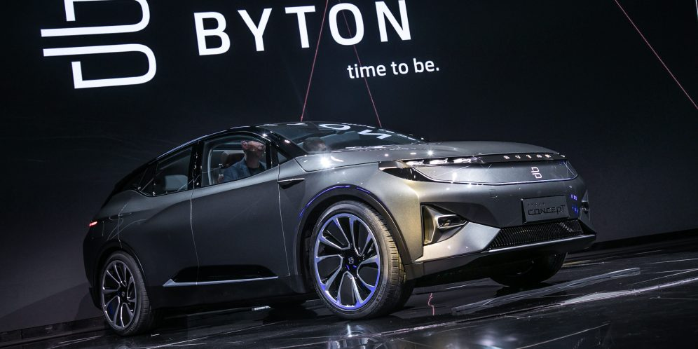 BYTON electric intelligent SUV makes global debut at CES (1)