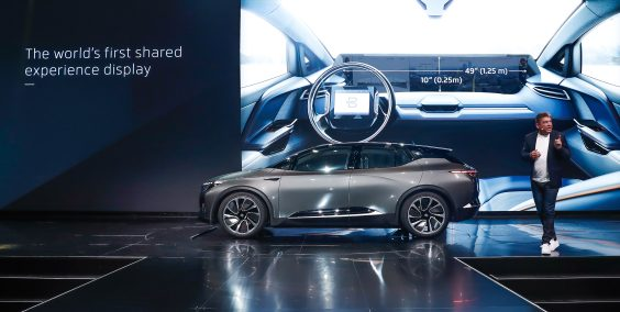 BYTON electric intelligent SUV makes global debut at CES (8)