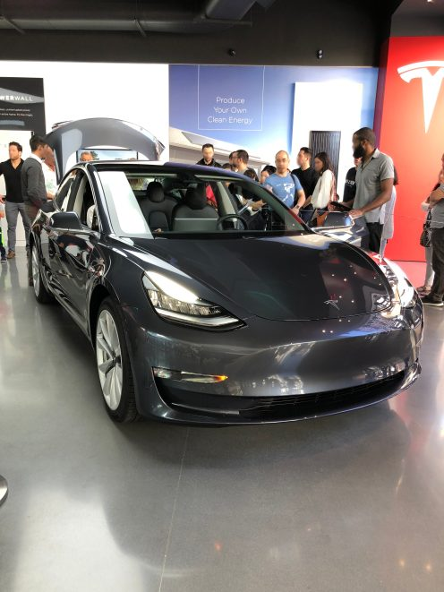 Tesla Model 3 century city 2