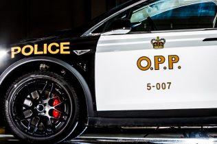 Tesla MOdel X police 2