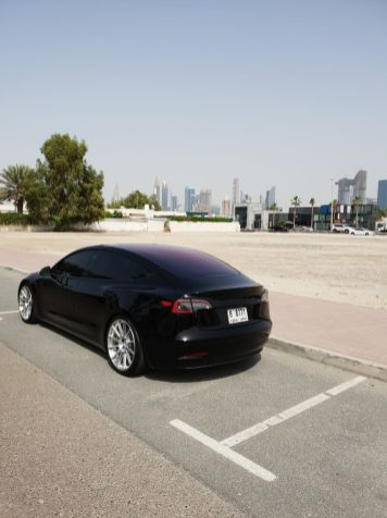 Tesla M3 in Dubai 3