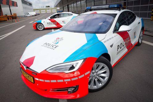tesla police luxembourg 2