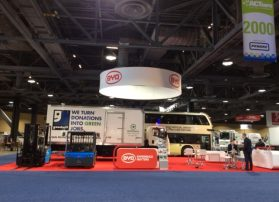 BYD Booth at ACT Expo