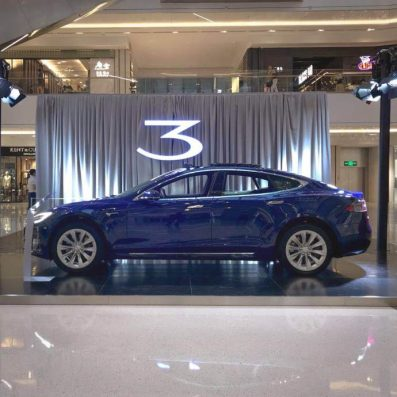 model 3 showcase china 2