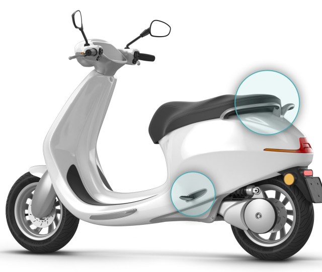 New Dutch Built Electric Scooter Claims 400 Km Range With Modular Batteries
