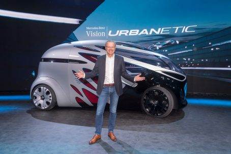 Mercedes-Benz Vision URBANETIC People-Mover-Modul Mercedes-Benz Vision URBA NETIC people-mover module