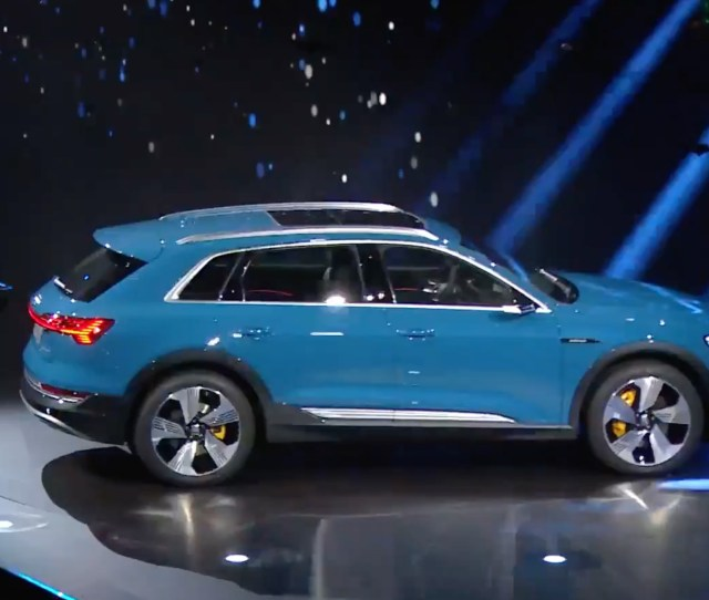 Audi Launches E Tron Electric Suv With  Starting Price